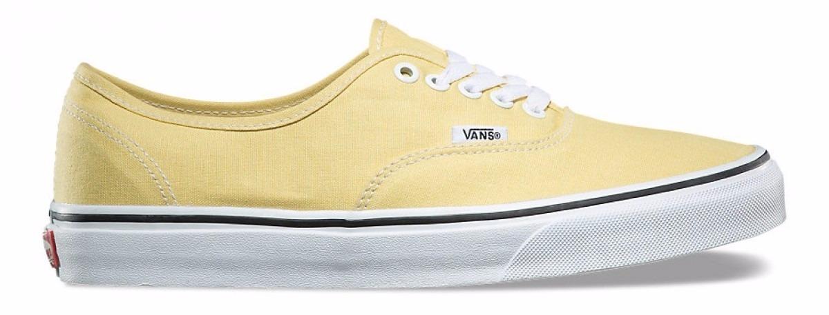 zapatillas vans amarillas