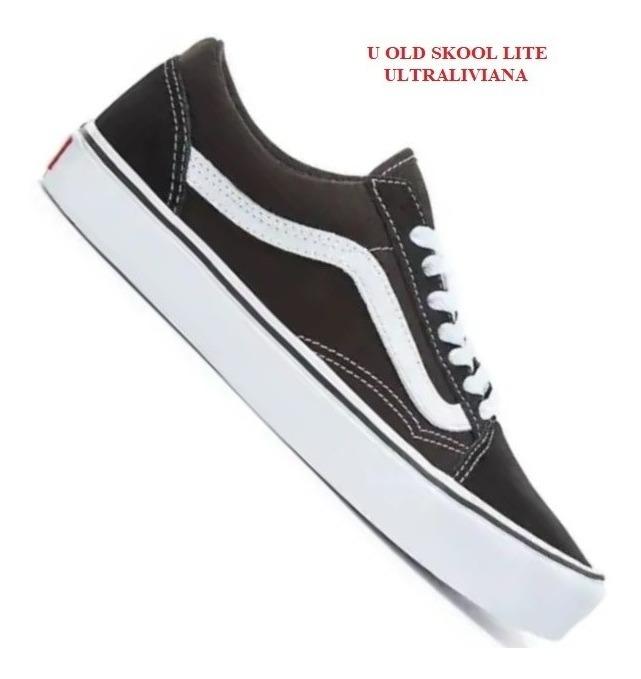 15d543e53aa Zapatilla Vans Old Skool Lite Negro Black Hombre Unisex - $ 4.390,00 ...