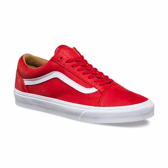 vans rojas old school