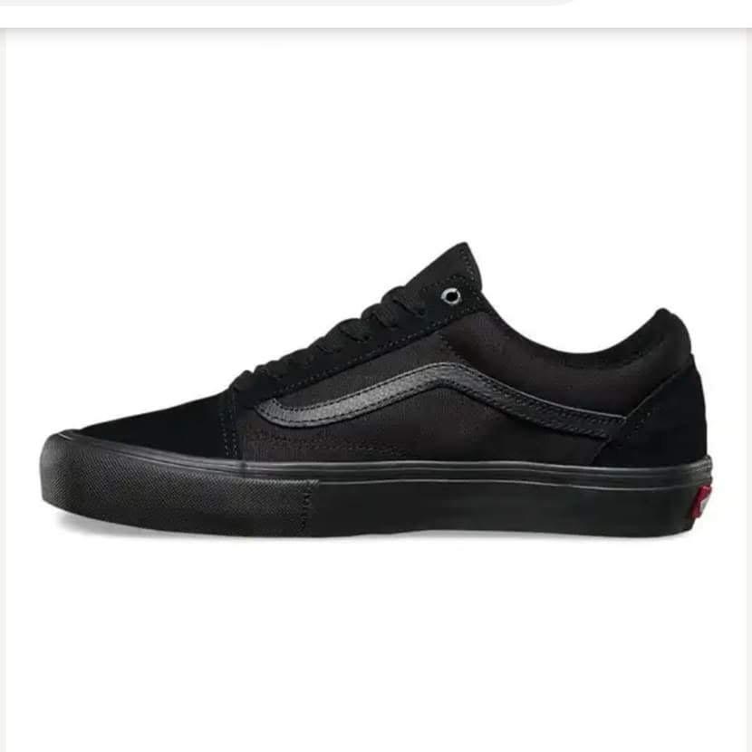 3a6b1be8842 zapatilla vans old skool pro originales black black negro. Cargando zoom.