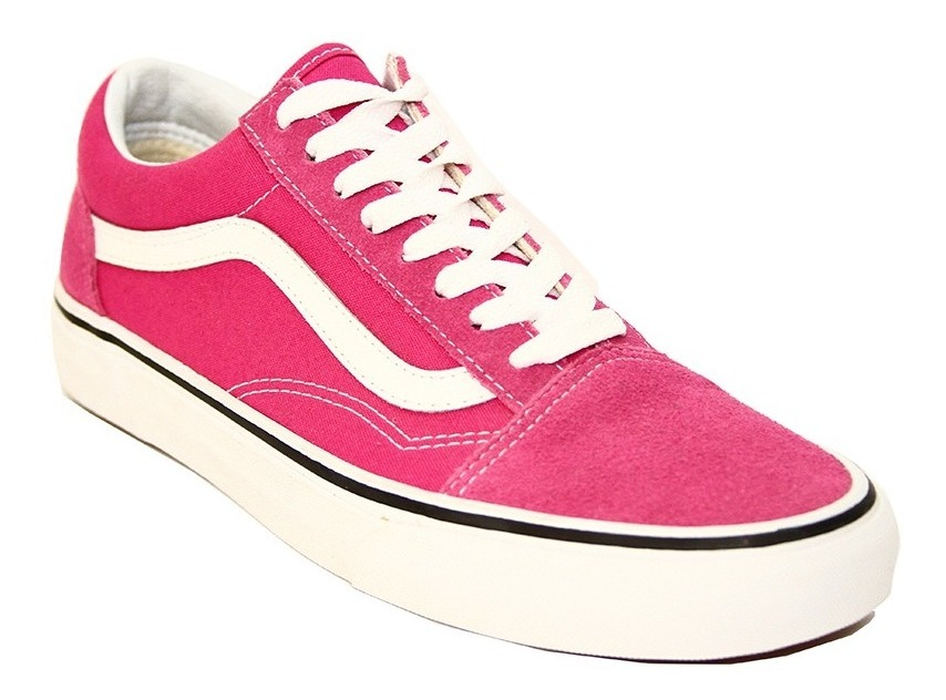 vans old school rosa mujer