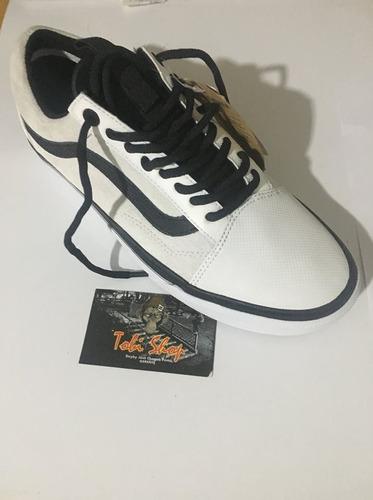 zapatilla vans old skool x north face -original envio gratis