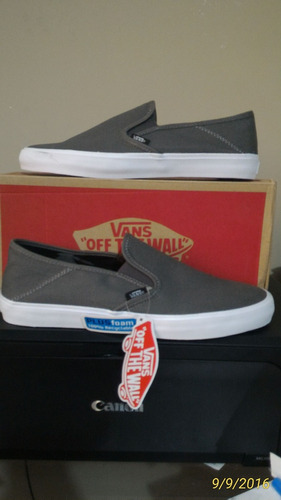 zapatilla vans slip on sf comino,talla 42