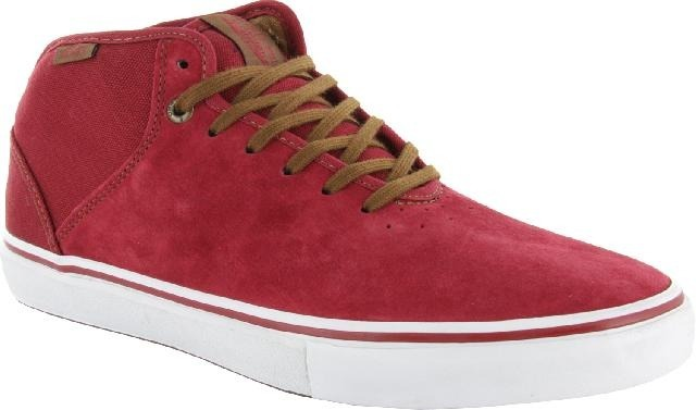 5afeccbfeaea Zapatilla Vans Stage 4 Mid Skate Gilbert Crockett Deep Red ...
