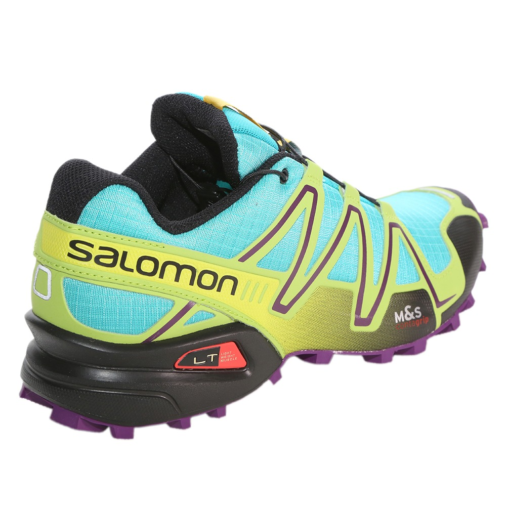 252c68f29a2 ... usa zapatilla verde salomon speedcross 3 dama. cargando zoom. eea53  55131