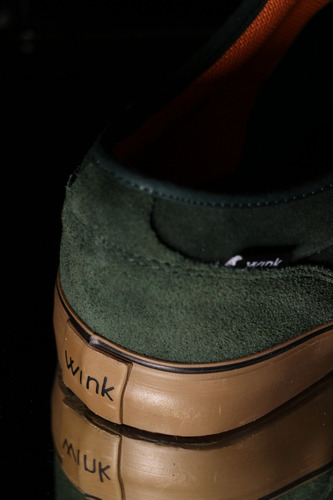 zapatilla zenitt green caramel - wink shoes