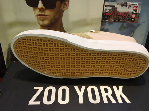 zapatilla zoo york sullivan grey cebra *zona munro*
