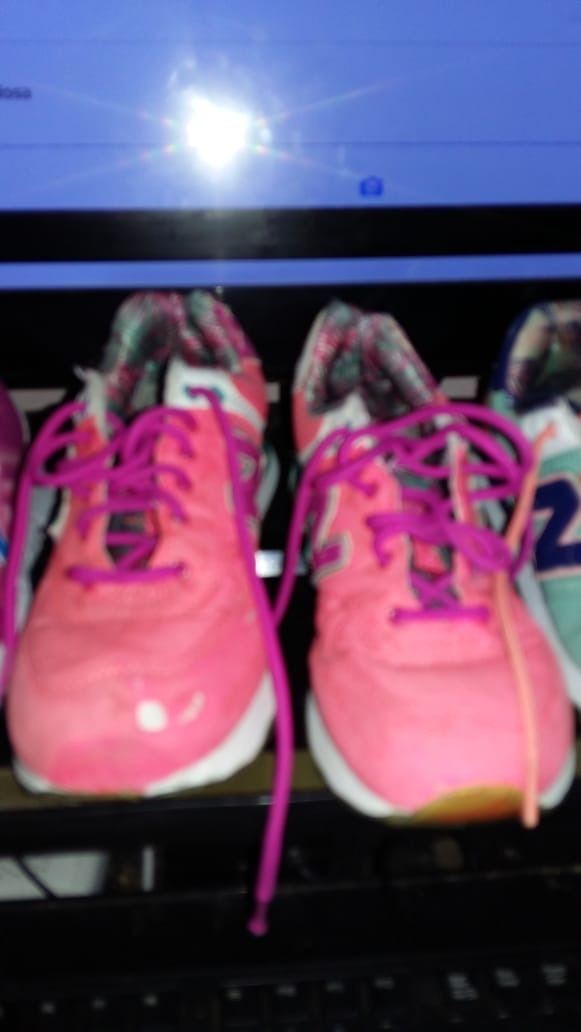 Zapatillas 37 New Balance Usadas Mujer - $ 150,00