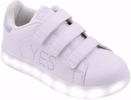 zapatillas 47st by footy led  mundo moda kids stl128