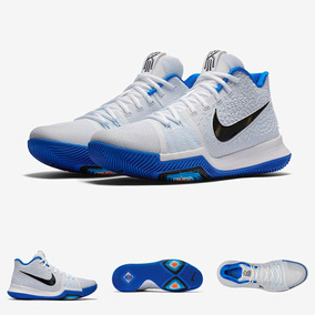 7c7661663d3ff Zapatillas Nike Kyrie 3 Hyper Cobalt Tallas Chicas Original
