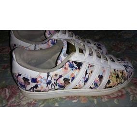 Adidas Superstar Corte Alto Zapatillas Mujeres, Usado en