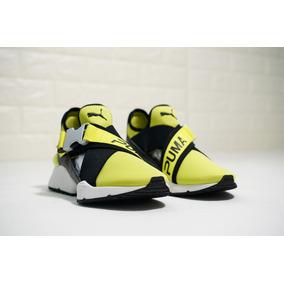 zapatillas puma amarillas