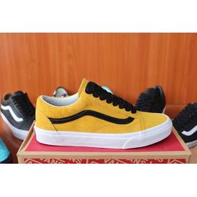zapatillas vans hombre amarillas
