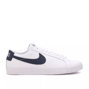 zapatillas blancas cuero hombre nike