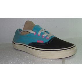 9ff0ed2b8c157 Zapatillas Vans Negras Y Celestes - Zapatillas Vans de Mujer en ...
