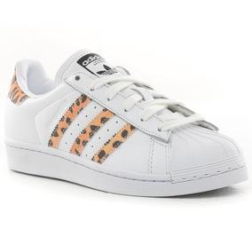 8892b91be5e Zapatillas Blancas Mujer Cuero Adidas - Ropa y Accesorios en Mercado ...