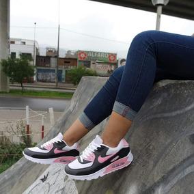 59740785c9b Zapatillas Nike Air Max 90 Mujer Floreada - Zapatillas en Mercado ...
