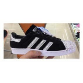 4ab15b464752 Zapatillas Adidas Punteras Negras - Zapatillas en Mercado Libre ...