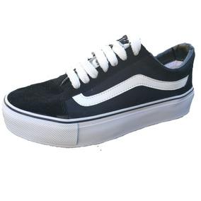 8278be0a2 Vans Plataforma Negras - Zapatillas Vans Urbanas de Mujer en Mercado ...