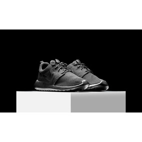 0db4d810909 Nike Roshe Run Black Anthracite Hombres - Zapatillas Hombres Nike en ...