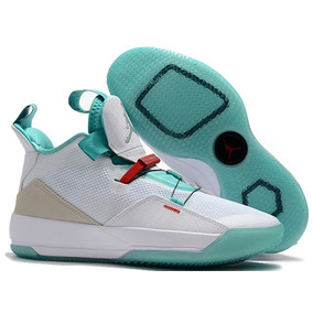 996b3a094 Zapatillas Nike Air Jordan 33 Green Jade And White 40-46