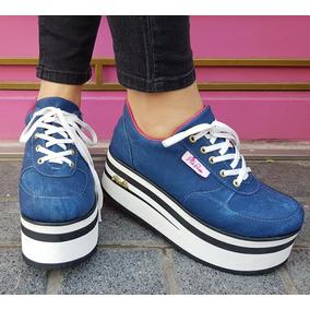d15162b5f776d Zapatillas Altas Plataforma - Zapatillas Urbanas de Mujer en Mercado Libre  Argentina