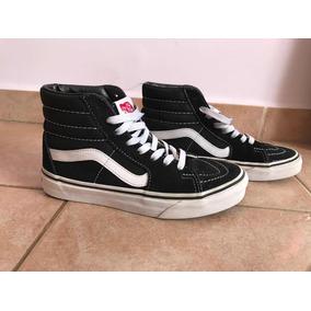 373a4177991ed Zapatilla Vans Sk8 Hi Black Hombre Vn 0d51b8c - Zapatillas en ...