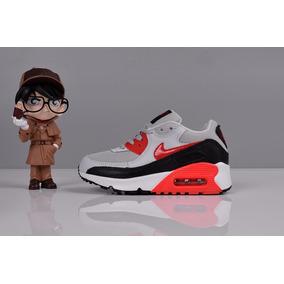 96d14f7a10f Zapatillas Nike Air Max 90 Niños Y Niñas 26 - 35 A Pedido