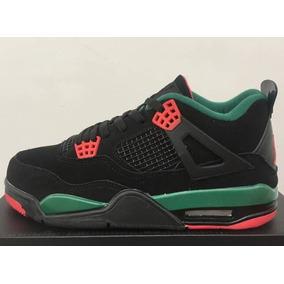watch 1f14a f68fd Zapatillas Nike Air Jordan 4 Color Negro Talla  40-47