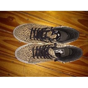 zapatillas vans mujer leopardo