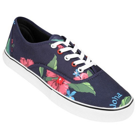 4db1e720c466a Zapatillas Vans Con Flores - Zapatillas en Mercado Libre Argentina