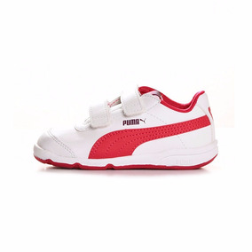 zapatillas blancas niño puma