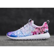 Nike Roshe Run One Cherry Blossom Flores Verano 2017 Caja