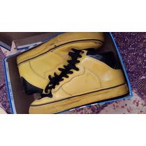 Zapatillas Alife Urbana Black & Yellow