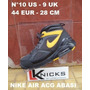 Nike Air Acg Abasi N° 10 Us - 9 Uk - 44 Eur - 28 Cm