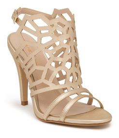 Sandalias Para Guess Zapatos By Dama Tacon Aguja Dorado n0w8OPkX