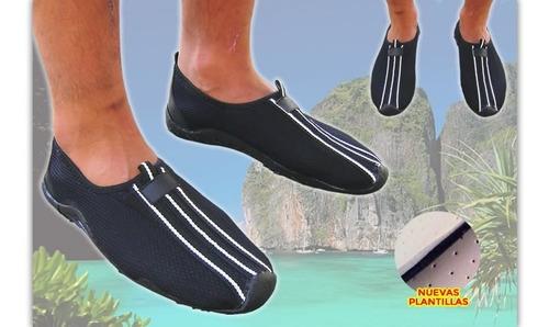 zapatillas acuaticas nauticas agua kayak pesca aqua gym