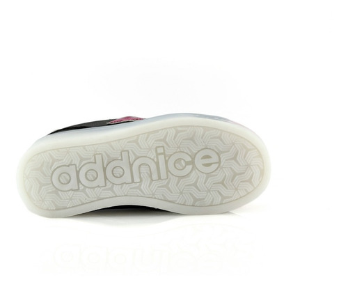 zapatillas addnice 1150-13 luces led recargables luminares