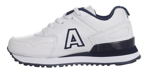 zapatillas addnice classic r.cordon + lapicero niño bl/az