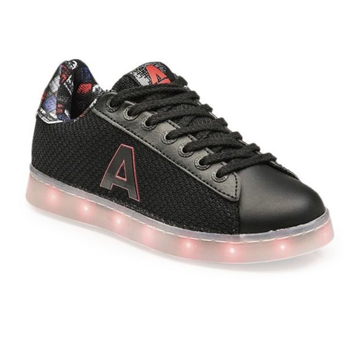zapatillas addnice luces led carga usb geometric mundomanias