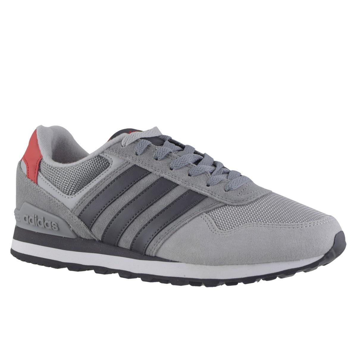zapatillas adidas hombres gris claro