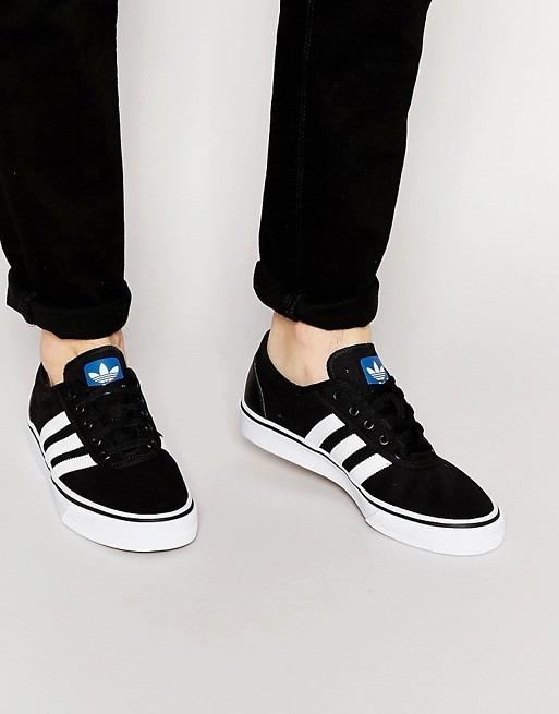 zapatillas adidas adiease negras