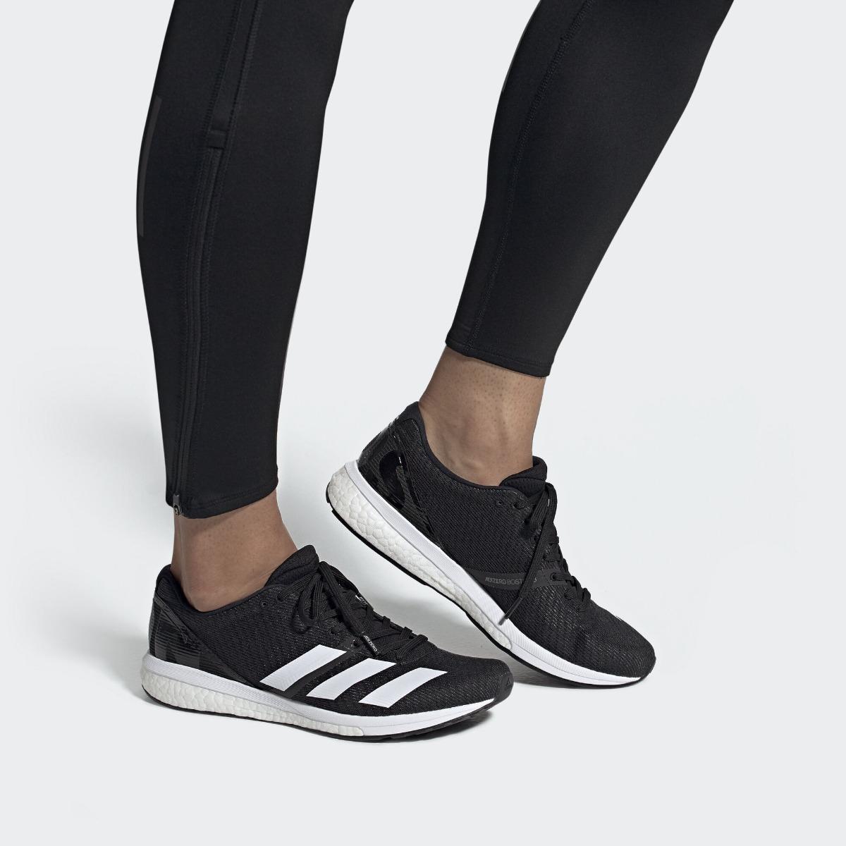 zapatos deportivos proveedor oficial nuevo estilo de vida Zapatillas adidas Adizero Boston 8 Running Neg De Hombre