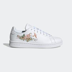 zapatillas adidas mujer con flores