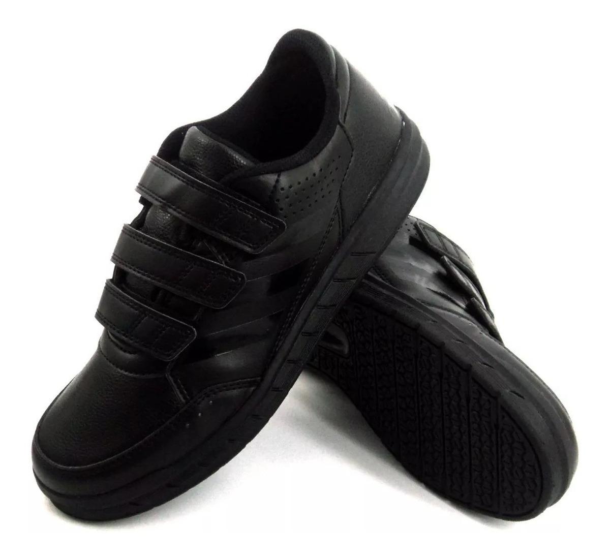 zapatillas niña adidas negras