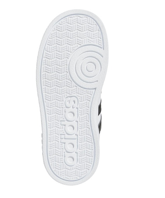 09326d413 Zapatillas adidas Baseline Cmf Inf Bebe - Blanco Negro -   2.200