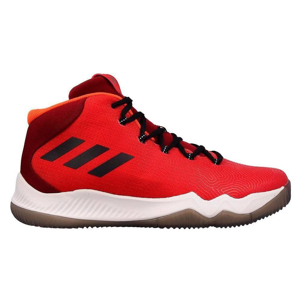 Basquet Zapatillas Hustle Hombre adidas Crazy Rojo wOPkTlZiXu