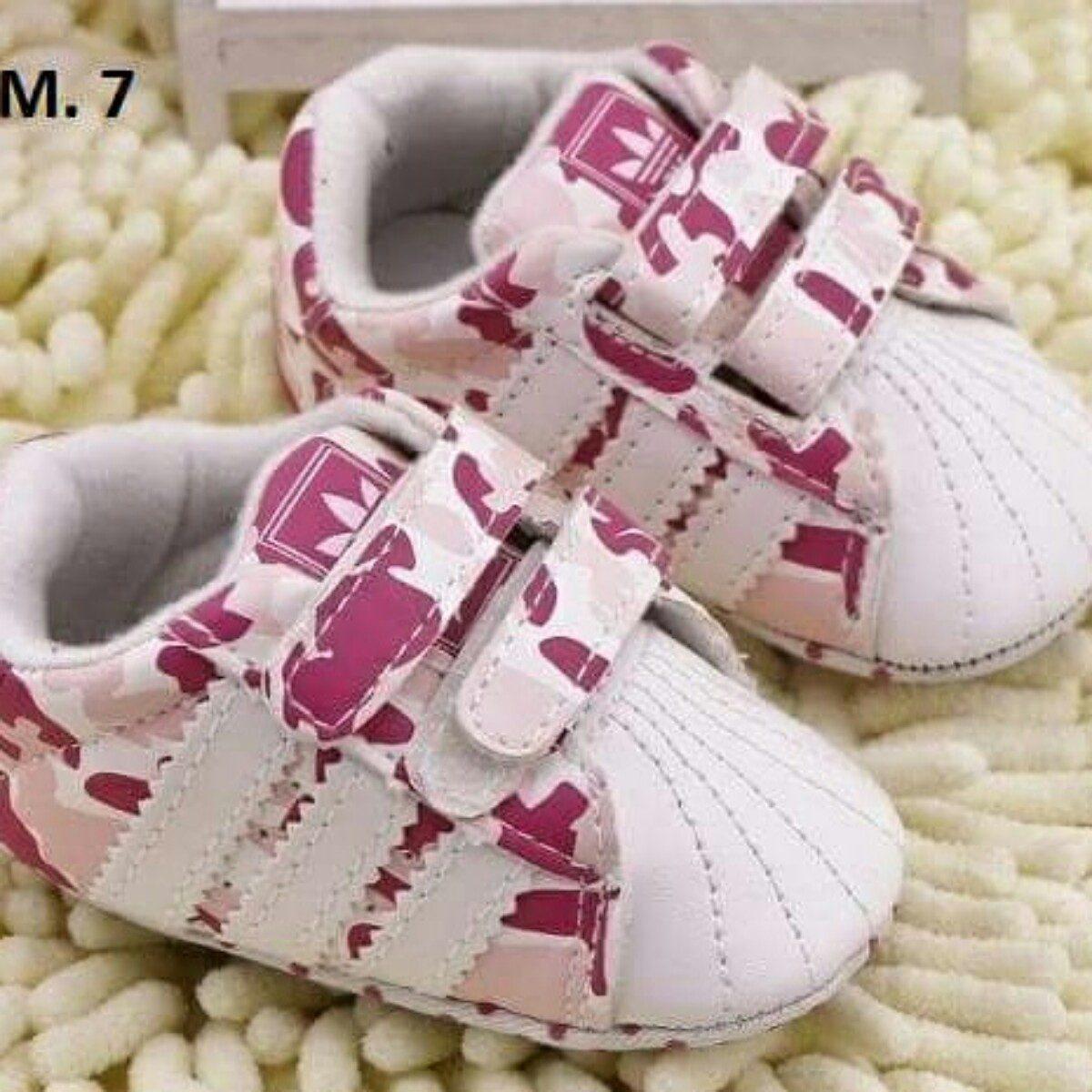 zapatillas adidas bebe rosa