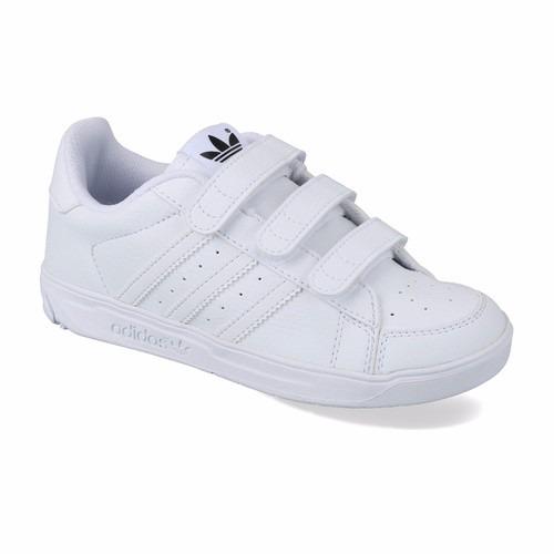 zapatillas adidas niñas blancas