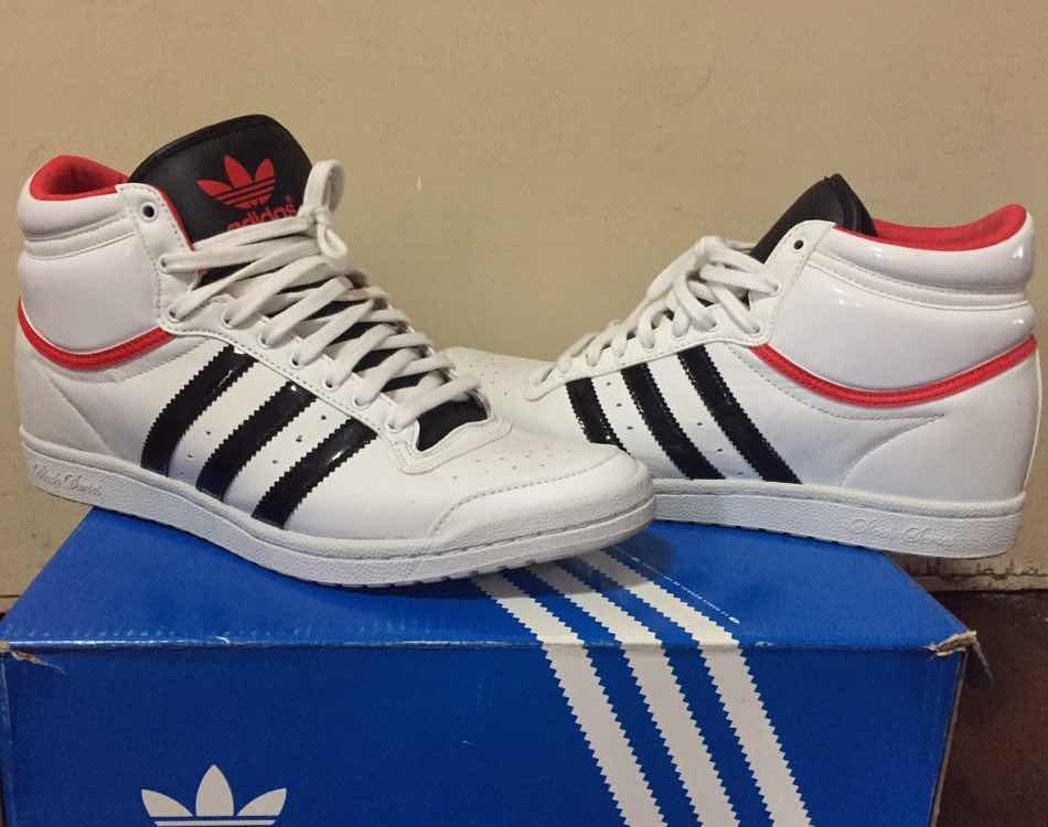 buy online 09f9f 7f2b5 Botita Adidas En Taco Blanco Mujer 700 Interno 40 Zapatillas 00 4gAxqRUnU5